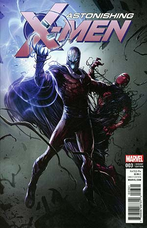 Astonishing X-Men Vol 4 #3 Cover B Variant Francesco Mattina Venomized Magneto Cover