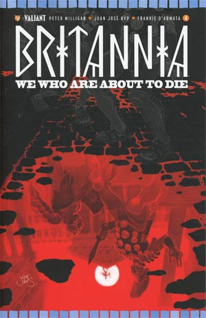 Britannia We Who Are About To Die #4 Cover C Incentive Leif Jones Variant Cover