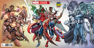 Marvel Legacy #1  Midtown Exclusive J Scott Campbell Gatefold Wraparound Variant Cover