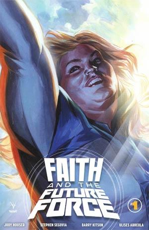 Faith And The Future Force #1 Cover E Incentive Felipe Massafera Variant Cover