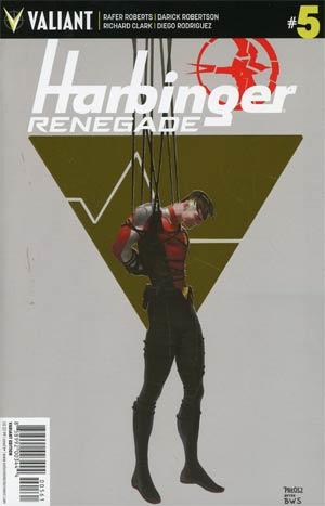 Harbinger Renegade #5 Cover F Incentive Monika Palosz Gold Foil Linewide Variant Cover