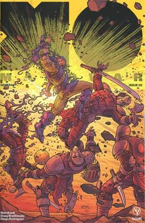X-O Manowar Vol 4 #5 Cover D Incentive Ryan Bodenheim Interlocking Variant Cover