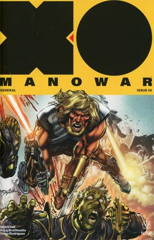 X-O Manowar Vol 4 #5 Cover E Incentive Neal Adams X-O Manowar Icon Variant Cover