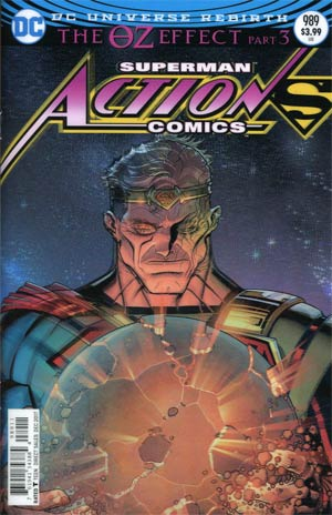 Action Comics Vol 2 #989 Cover A Regular Nick Bradshaw Lenticular Cover