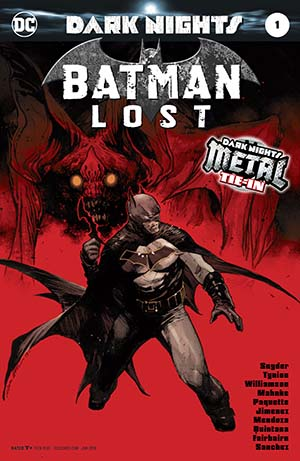 Batman Lost #1 Cover A Foil-Stamped Cover (Dark Nights Metal Tie-In)