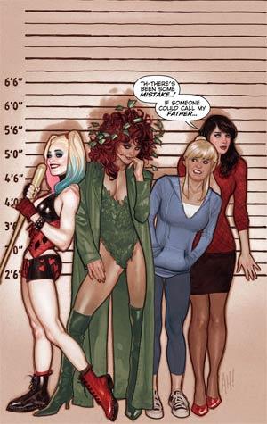 Harley & Ivy Meet Betty & Veronica #1 Cover B Variant Adam Hughes Cover