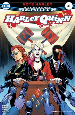 Harley Quinn Vol 3 #30 Cover A Regular Amanda Conner Cover