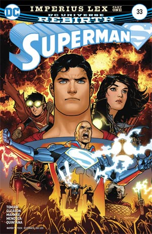 Superman Vol 5 #33 Cover A Regular Patrick Gleason Cover