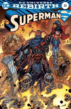 Superman Vol 5 #33 Cover B Variant Jonboy Meyers Cover