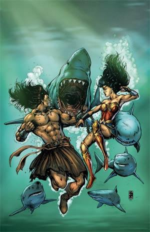 Wonder Woman Conan #2 Cover A Regular Darick Robertson Cover