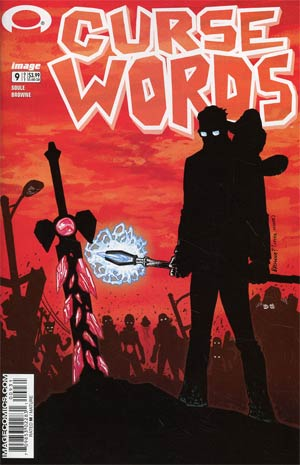Curse Words #9 Cover C Variant Ryan Browne Walking Dead 6 Tribute Color Cover