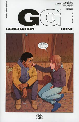 Generation Gone #4 Cover A Regular Andre Lima Araujo & Chris OHalloran Cover