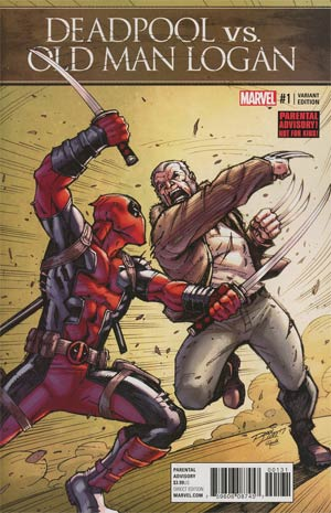 Deadpool vs Old Man Logan #1 Cover B Variant Ron Lim Cover