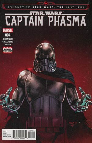 Journey To Star Wars The Last Jedi Captain Phasma #4 Cover A Regular Paul Renaud Cover