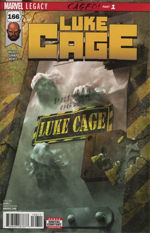 Luke Cage #166 Cover A Regular Rahzzah Cover (Marvel Legacy Tie-In)