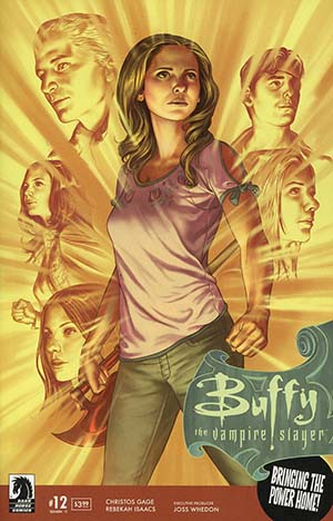 Buffy The Vampire Slayer Season 11 #12 Cover A Regular Steve Morris Cover
