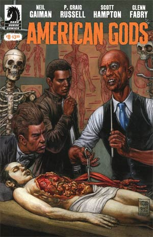 American Gods Shadows #8 Cover A Regular Glenn Fabry Cover