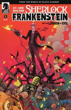 Sherlock Frankenstein And The Legion Of Evil #1 Cover A Regular David Rubin Cover