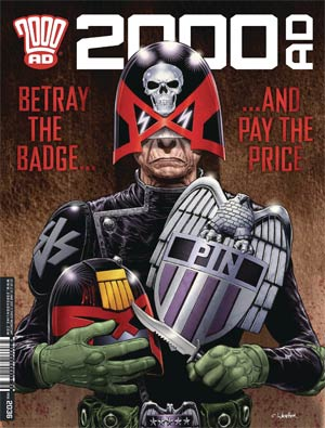 2000 AD #2051 - 2054 Pack October 2017