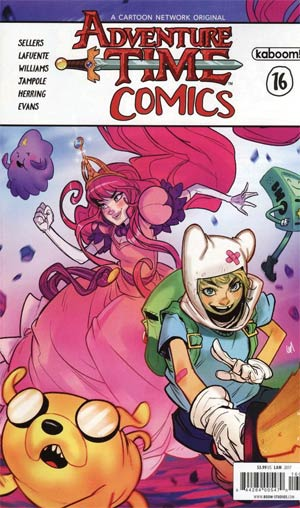 Adventure Time Comics #16 Cover A Regular Jon Lam Cover