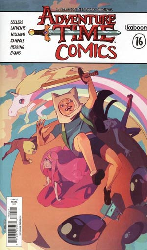Adventure Time Comics #16 Cover B Variant Richard Chang Subscription Cover