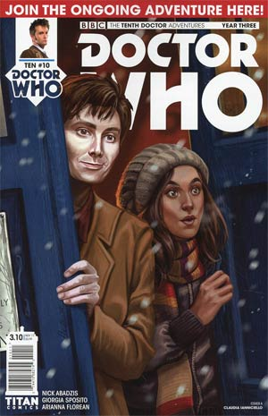 Doctor Who 10th Doctor Year Three #10 Cover A Regular Claudia Ianniciello Cover