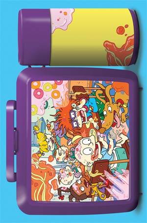 Rugrats #1 Cover B Variant Shelli Paroline & Braden Lamb Lunchbox Subscription Cover