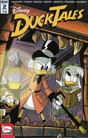 Ducktales Vol 4 #2 Cover A Regular Marco Ghiglione Cover