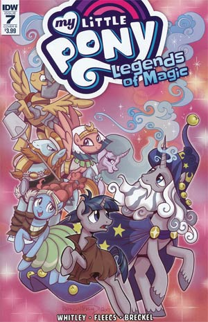 My Little Pony Legends Of Magic #7 Cover B Variant Brenda Hickey Cover