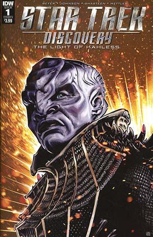 Star Trek Discovery #1 Cover A Regular Tony Shasteen Cover