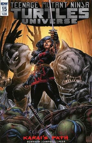 Teenage Mutant Ninja Turtles Universe #15 Cover A Regular Freddie E Williams II Cover