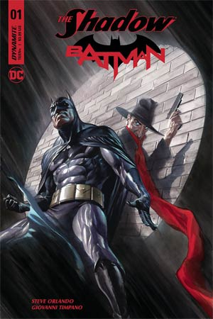 Shadow Batman #1 Cover C Variant Alex Ross Cover