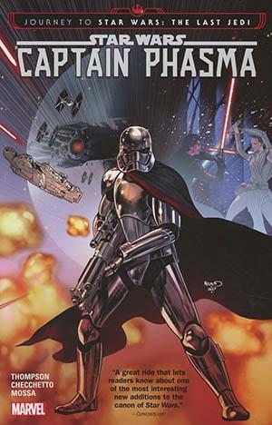 Star Wars Journey To Star Wars The Last Jedi Captain Phasma TP