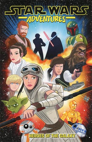 Star Wars Adventures Heroes Of The Galaxy TP