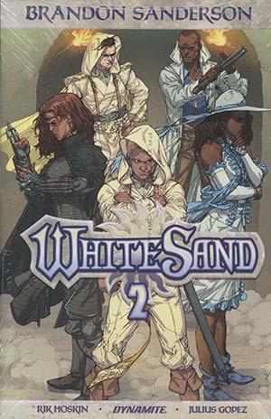Brandon Sandersons White Sand Vol 2 HC Regular Edition