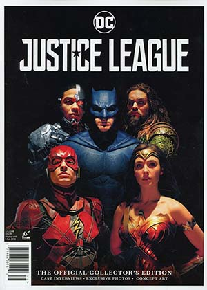 Justice League Movie Official Collectors Magazine Newsstand Edition