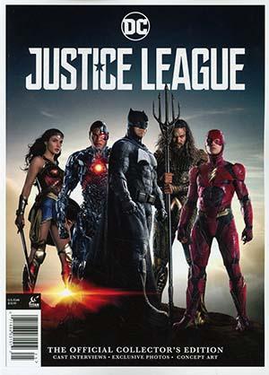 Justice League Movie Official Collectors Magazine Previews Exclusive Edition