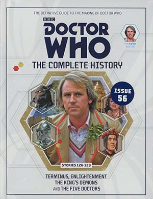 Doctor Who Complete History Vol 56 5th Doctor Stories 126-129 HC