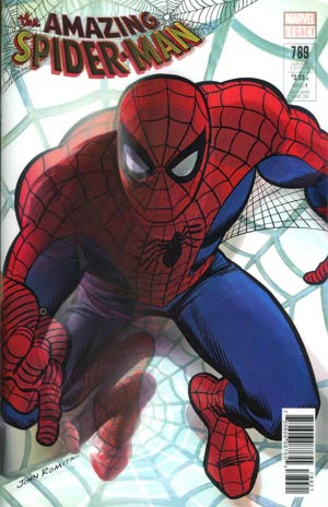 Amazing Spider-Man Vol 4 #789 Cover B Variant Alex Ross Lenticular Homage Cover (Marvel Legacy Tie-In)