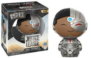 Dorbz 348 Justice League Movie Cyborg Vinyl Figure