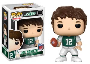 POP NFL Legends Joe Namath Jets Home Vinyl Figure