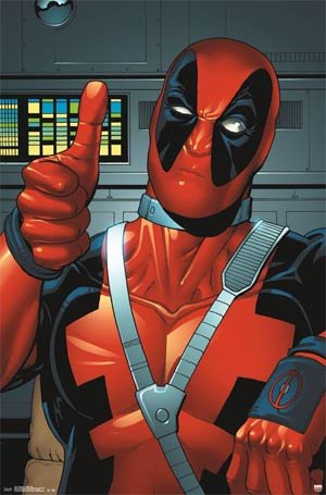 Deadpool Thumbs Up Poster