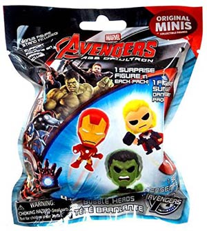 Avengers Age Of Ultron Buildable Figure Blind Mystery Box