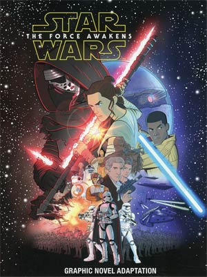 Star Wars Episode VII The Force Awakens Graphic Novel Adaptation TP (IDW Publishing)