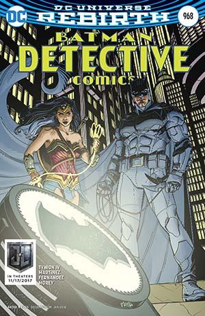 Detective Comics Vol 2 #968 Cover B Variant Cully Hamner Justice League Cover