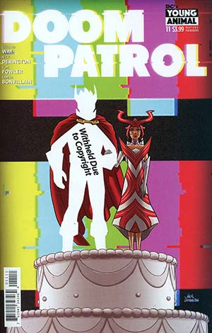 Doom Patrol Vol 6 #11 Cover A Regular Nick Derington Cover