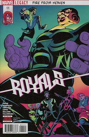Royals #11 (Marvel Legacy Tie-In)