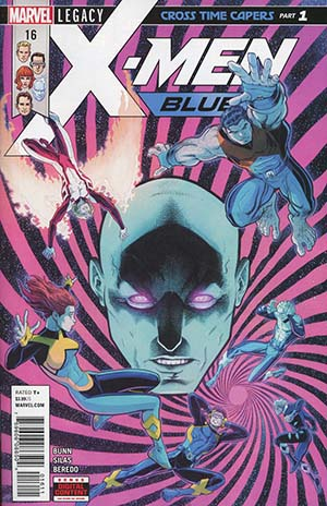 X-Men Blue #16 (Marvel Legacy Tie-In)