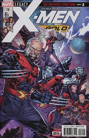 X-Men Gold #16 (Marvel Legacy Tie-In)