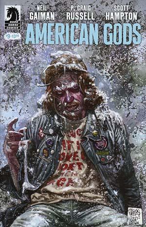 American Gods Shadows #9 Cover A Regular Glenn Fabry Cover